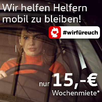 Wir helfen Helfern. #wirfuereuch