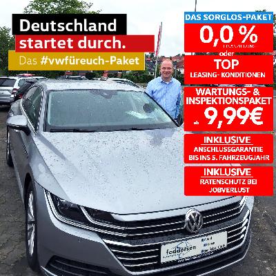 Aktionsangebot! VW Arteon inkl. Sorglos-Paket!