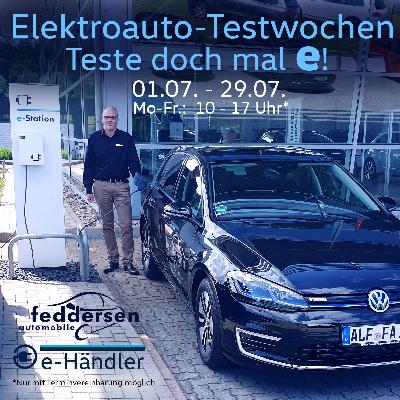 Elektroauto-Testwochen vom 01.07.-29.07.2020
