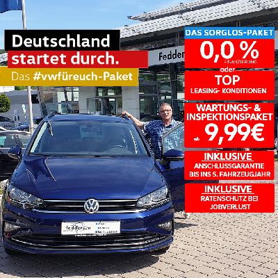 Aktionsangebot! VW Golf Sportsvan inkl. Sorglos-Paket!