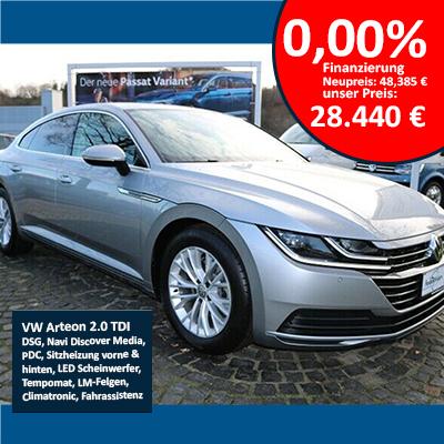 VW Arteon 2.0 TDI zu 0,00%