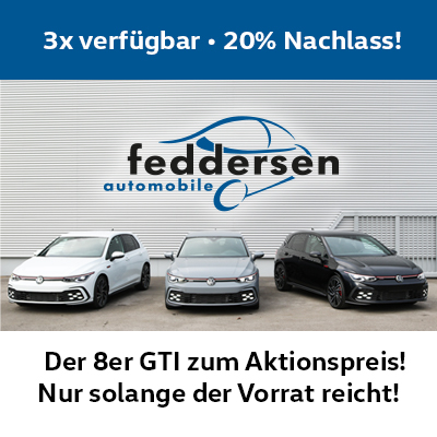Die Golf GTI-Aktion – 20% Rabatt!