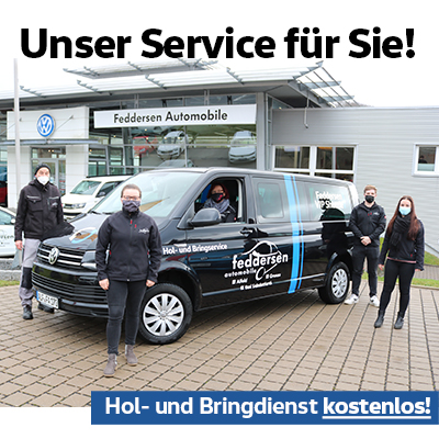 Hol- und Bringdienst kostenlos!