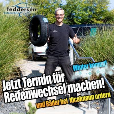 Nicolmann Reifenwechsel Winterräder